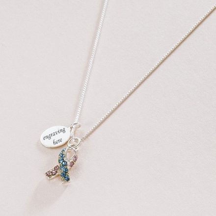 Infant Loss Awareness Necklace with Engraving